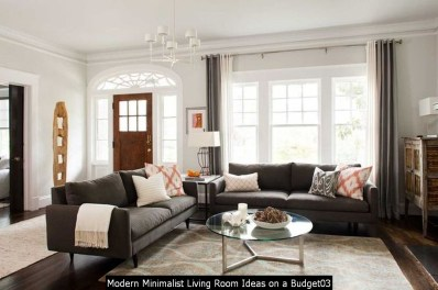 Modern Minimalist Living Room Ideas On A Budget03