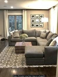 Modern Minimalist Living Room Ideas On A Budget04