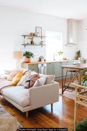 Modern Minimalist Living Room Ideas On A Budget05