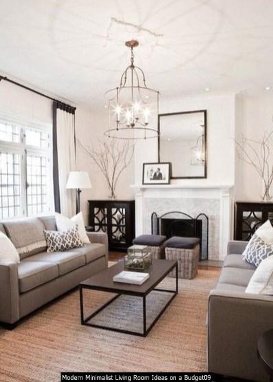 Modern Minimalist Living Room Ideas On A Budget09
