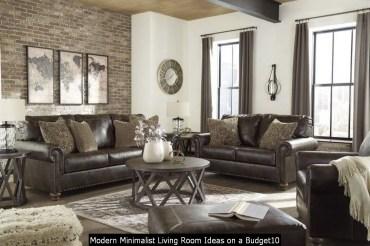 Modern Minimalist Living Room Ideas On A Budget10