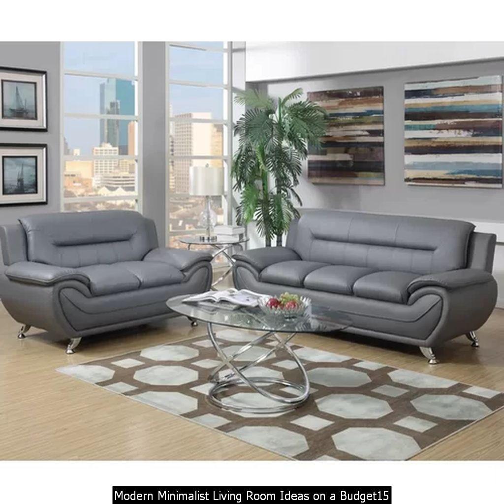 Modern Minimalist Living Room Ideas On A Budget15