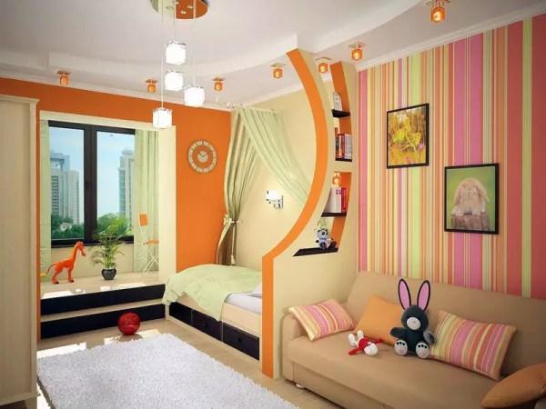 Обои для детской комнаты для девочек: фото, особенности ...