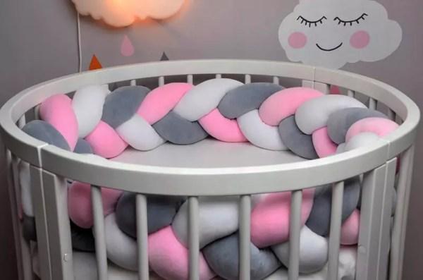 Бортики в кроватку для новорождённых своими руками ...