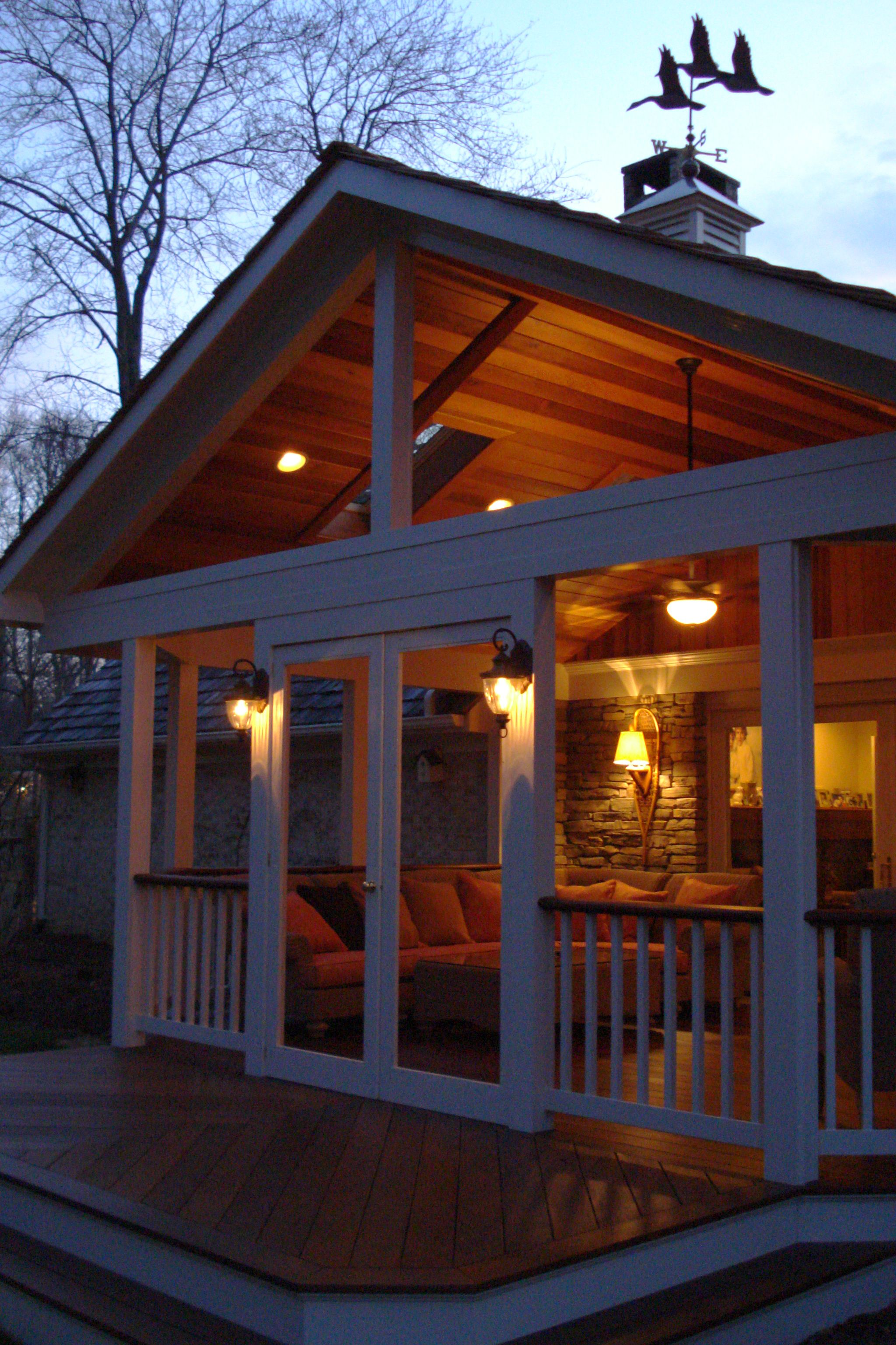 Top 7 Most Stunning Enclosed Patio Designs and Their Costs ... on Covered Patio Design Ideas id=41716