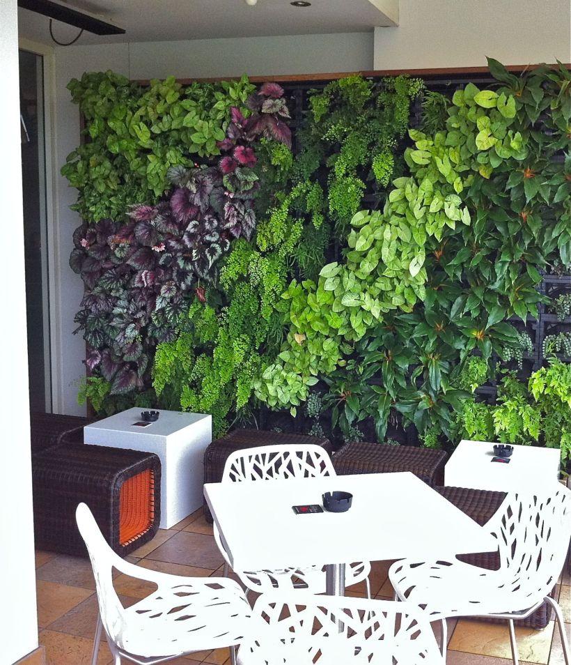 Lovely Vertical Garden Wall