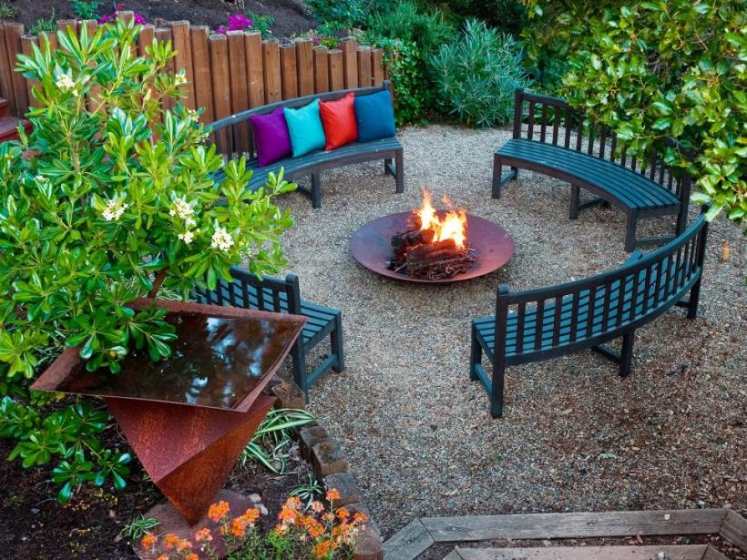 A Cozy Circle in the Backyard