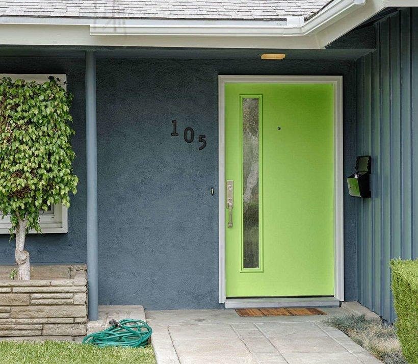 Special Main Door That Fits Your Garden