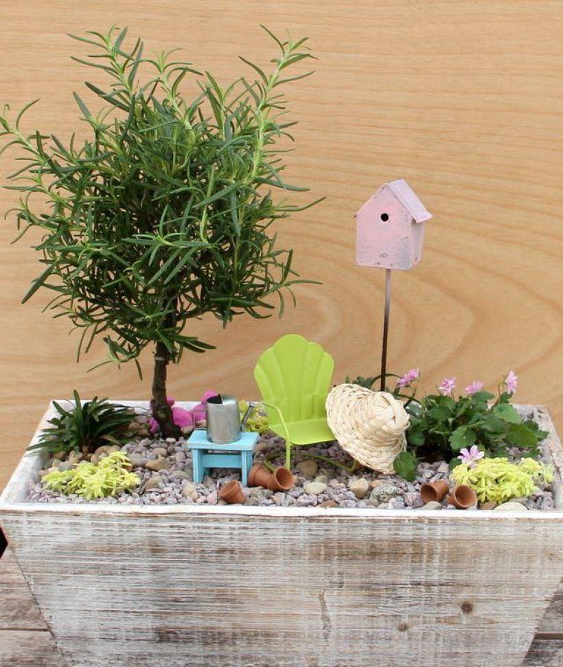 A Fairy Garden to Get Ready for Summer