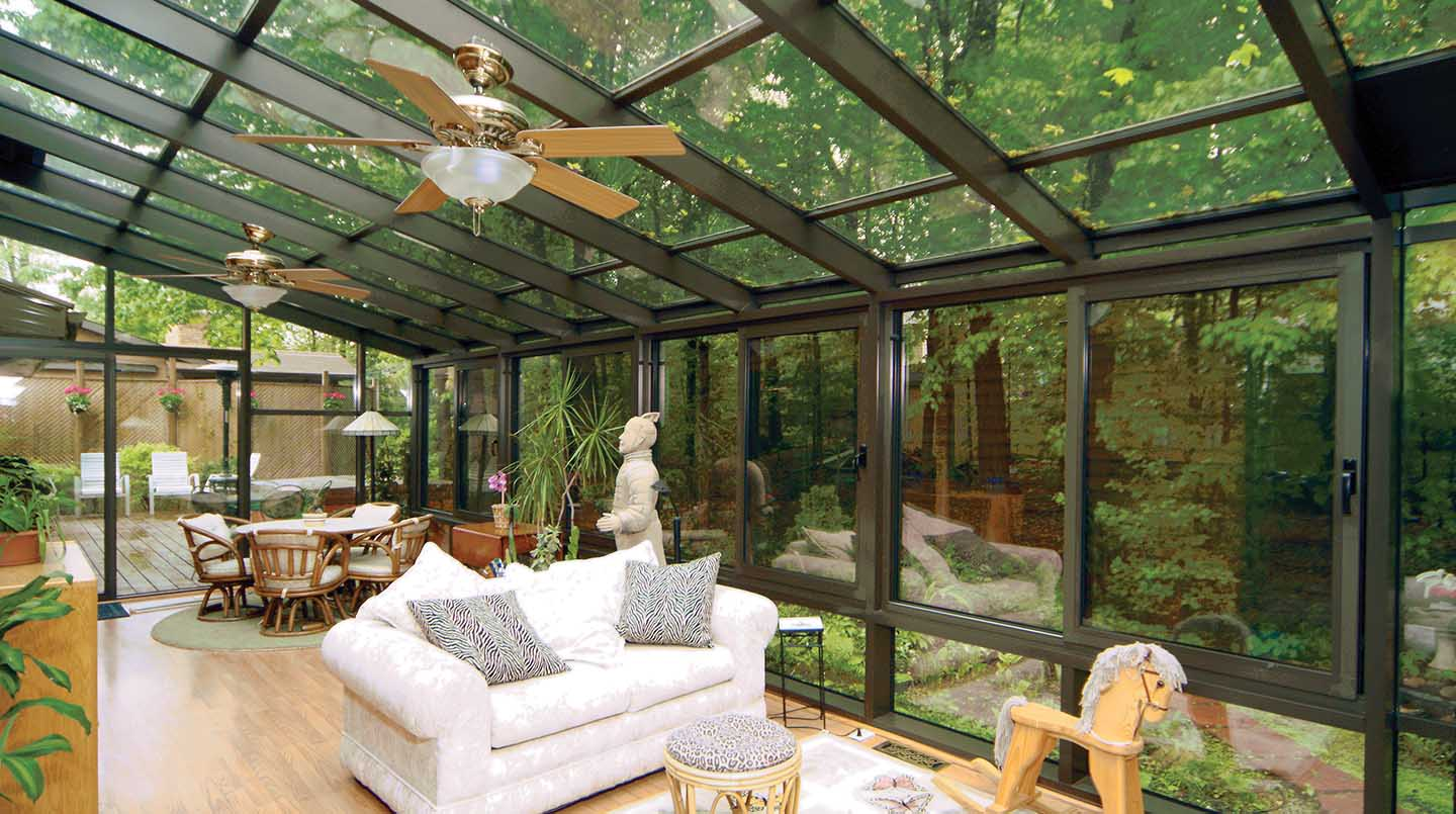 most stunning enclosed patio designs