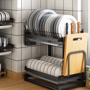 Table Top Dish Rack (2-Tiers)