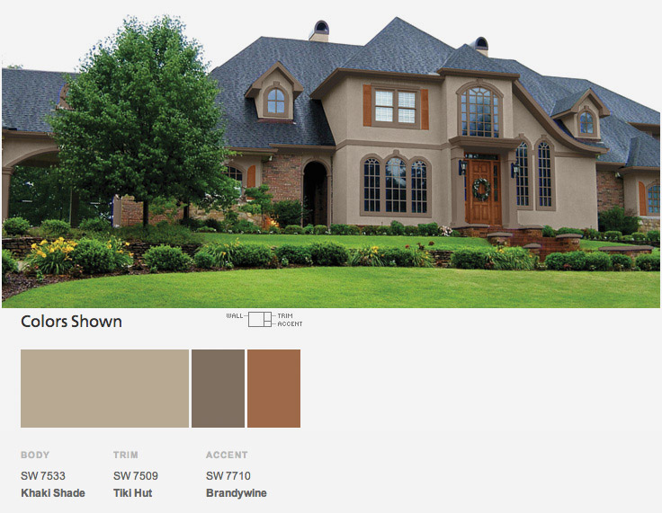 Paint Colors For Your Home Exterior Hommcps