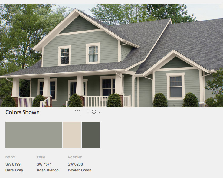Paint Colors For Your Home Exterior