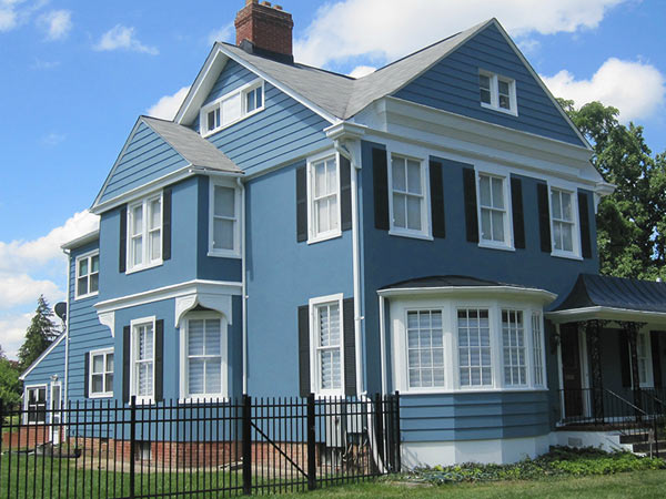 Cost to Paint Exterior of a House  VA  MD   HOMMCPS Cost to Paint a House
