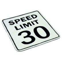 8. Tapis speed limit.