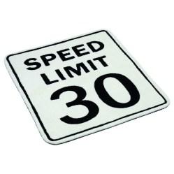 8. Tapis speed limit.