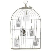 3. Pèle mêle cage oiseau.