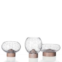 3. Collection de vases Glass Mount.