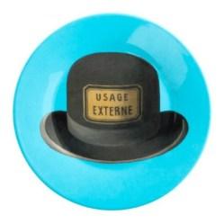6. Assiette en mélamine chapeau collection Magritte.