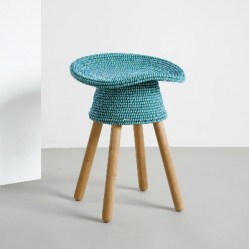 1. Tabouret Coiled.