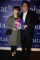 Marina Fois avec Hervé Giaoui.