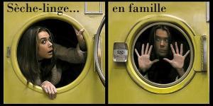 Sèche-linge en famille