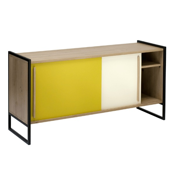 un rayon de jaune. Black Bedroom Furniture Sets. Home Design Ideas
