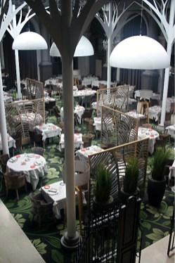 Le restaurant la Verrière.