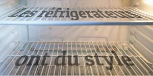 Les réfrigérateurs ont du style