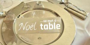 Noël se met à table