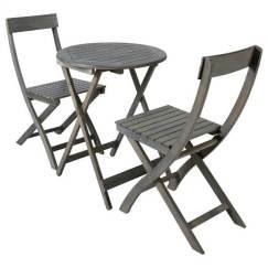 Table et 2 chaises Saint Malo, Maison du Monde.