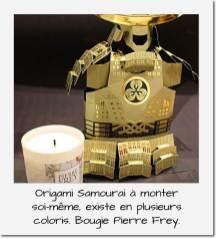 Origami Samourai + Pierre Frey