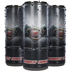 Batman VS Superman Energy Drink.