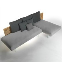 Air Wilwood Sofa, Lago.