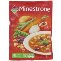 Soupe Minestrone, Leader Price.