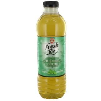 Fresh Tea, Thé Vert infusé menthe, Marque Repère.