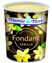 Fondant vanille Mamie Nova, 1,35 €