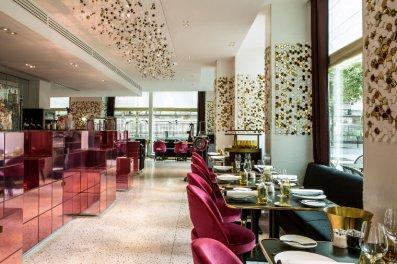 Restaurant de l'Hôtel Fauchon.