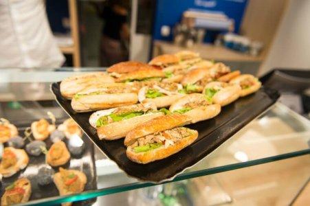 Sandwichs conserverie La Belle-Iloise. Photo Ariane Le Guay