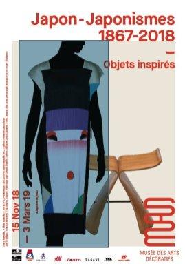 Japon-Japonismes, objets inspirés 1867-2018