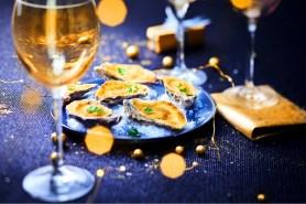6 huîtres de Bretagne au Sabayon, Thiriet