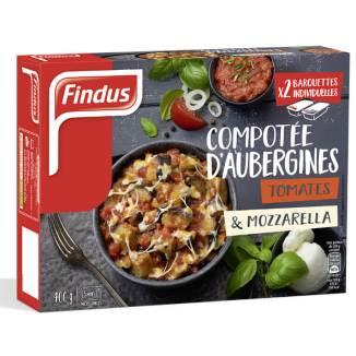Compotée d'aubergines, Findus