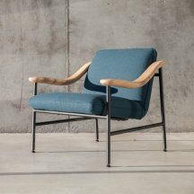 Fauteuil Lounge H. Russell, Versant Edition