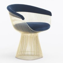 5. Chaise Platner Gold, Knoll.