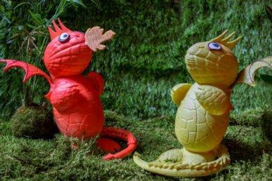 Les Dragons, Buddha Bar Hôtel