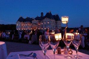 Les soirées aux chandelles du château de Vaux-le-Vicomte