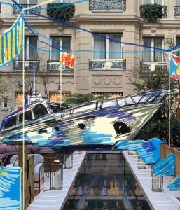 Le Yacht Club de l'hôtel de Crillon célèbre les 100 ans du Negroni