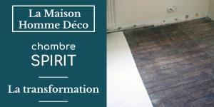 La chambre spirit, la transformation