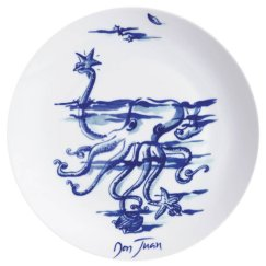 3. Assiettes Légendes des mers, Fragonard
