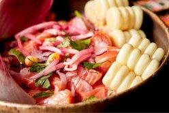 Côté Sushi, ceviche saumon (photo Mélanie Denizot)